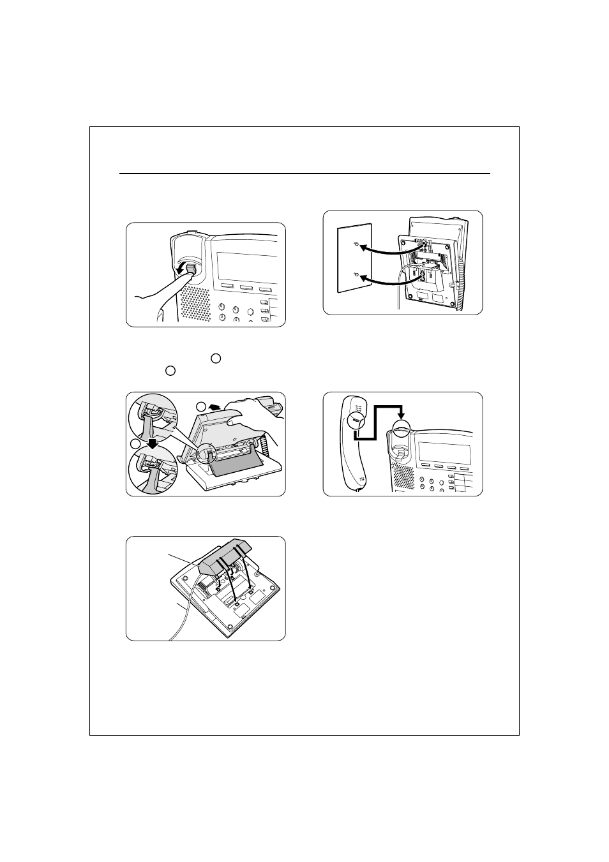 wall mounting panasonic kx t7633 user manual page 20 25 rh manualsdir com panasonic kx-t7633 manual panasonic telephone kx-t7633 manual
