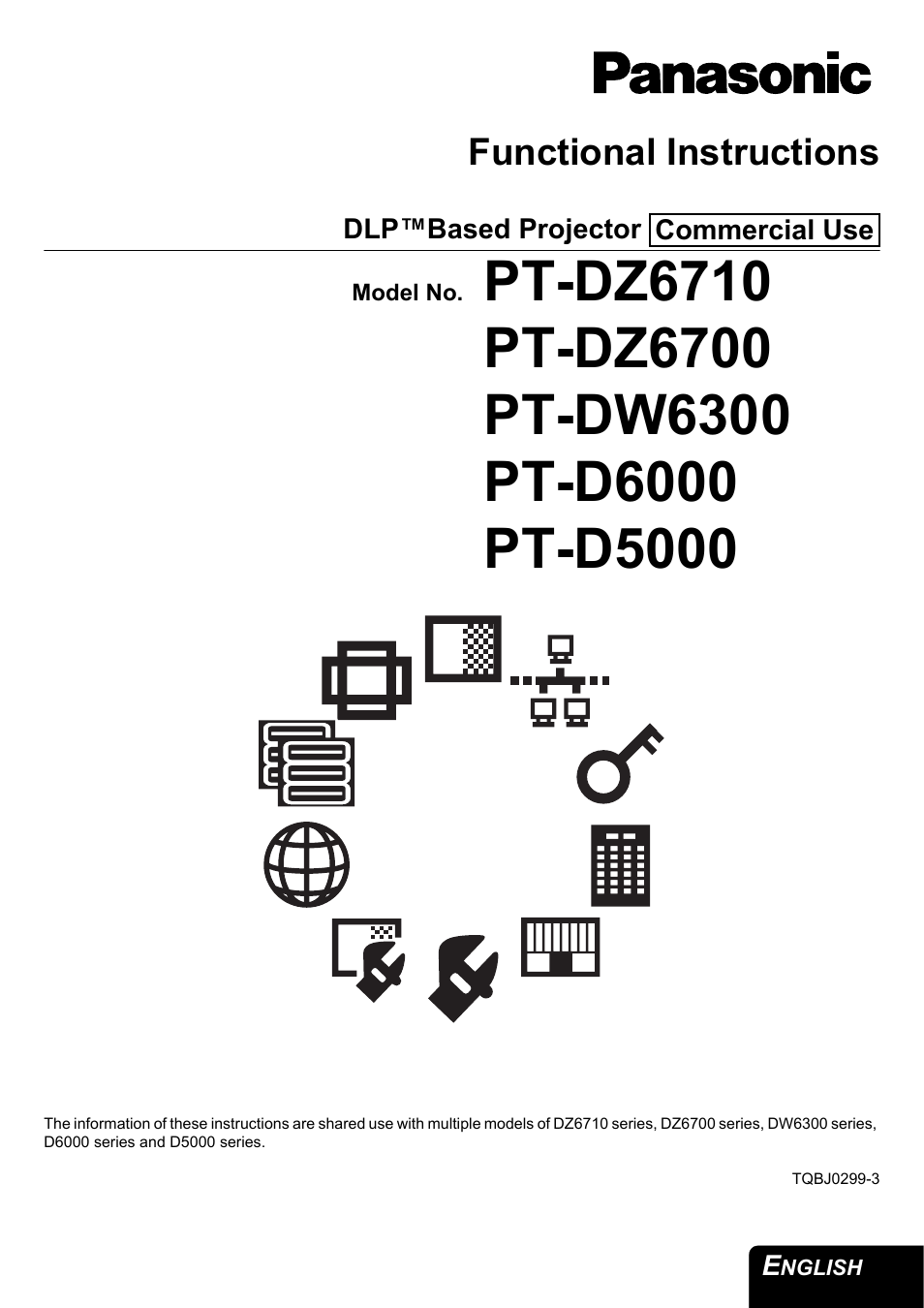 panasonic pt dz6710 user manual 52 pages also for pt d6000 pt rh manualsdir com panasonic pt-d6000 projector manual Panasonic Vt