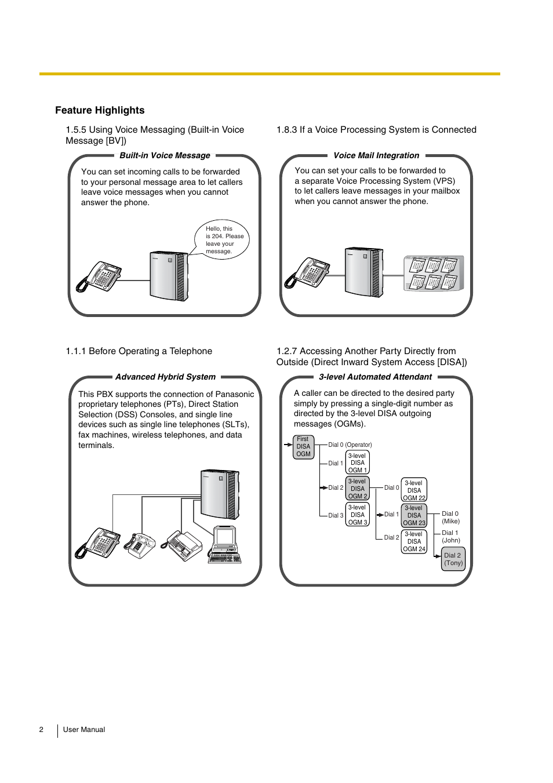 feature highlights philips kx tea308 user manual page 2 168 rh manualsdir com panasonic kx-tea308 installation manual kx-tea308 manual download