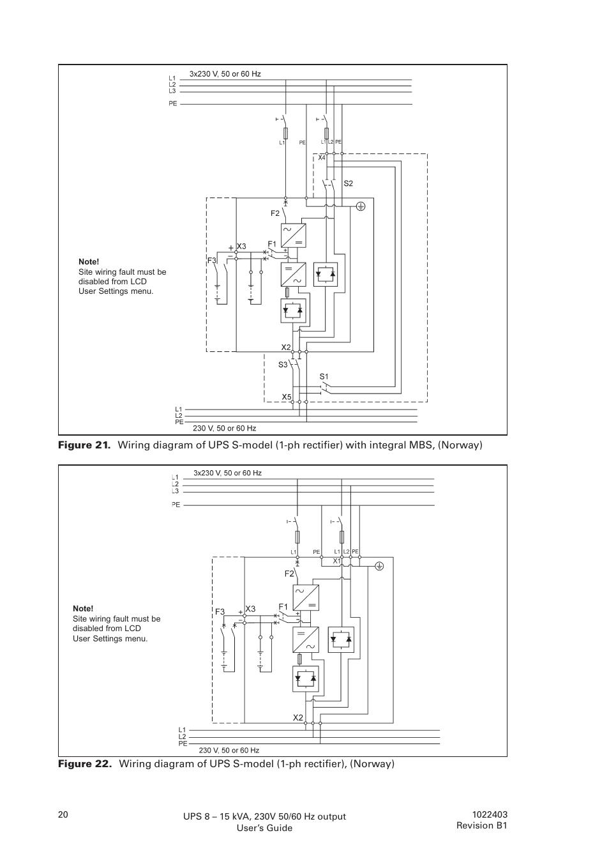 Ups Wiring Diagram In 10kva Trusted Diagrams Wave Inverter Circuit Diagrams1000w Pure Sine Powerware Powereware Plus 8 10 Kva User Manual Page 20 46 Typical Home Light Source