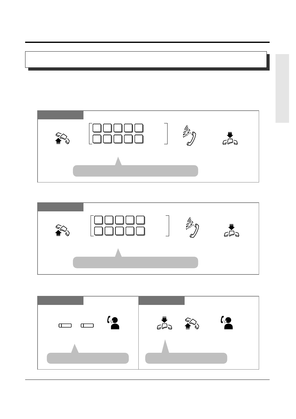 5 during a conversation, Call waiting | Panasonic KX-TA308 User Manual |  Page