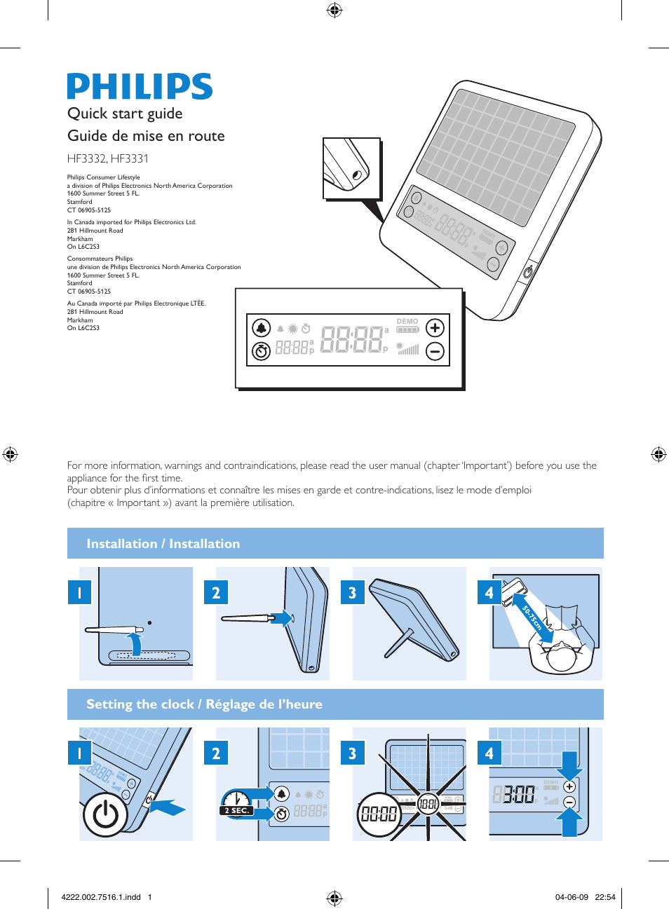philips golite blu hf3332 user manual 2 pages also for hf3332 60 rh manualsdir com philips golite blu hf3332 manual Philips goLITE Directions