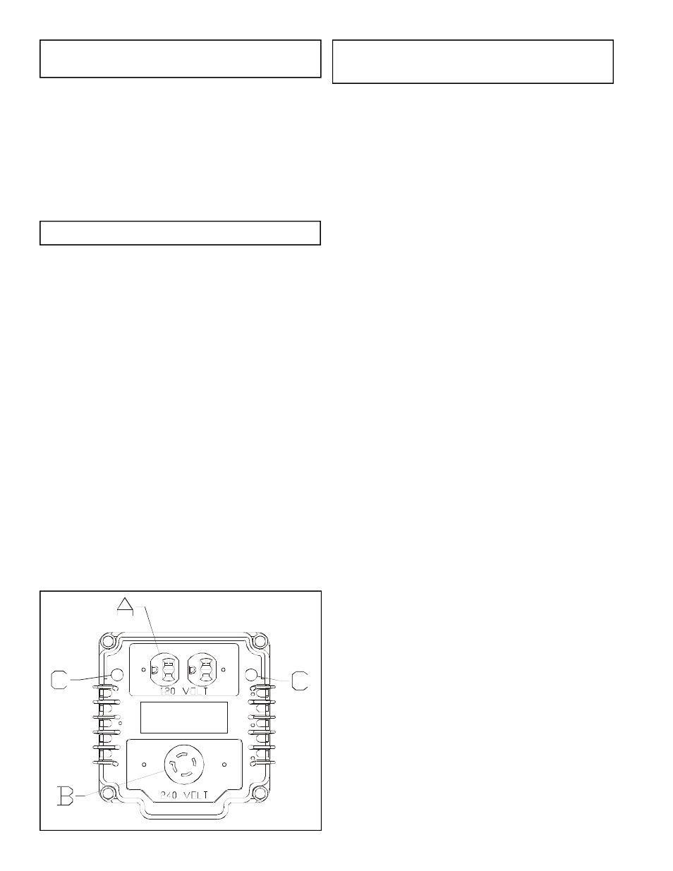 Placa lateral | Powermate Maxa 5000 ER PM0525202.02 User Manual | Page 4 /