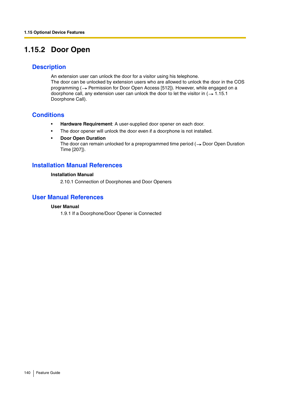 2 door open description conditions panasonic hybrid ip pbx kx rh manualsdir com panasonic tda200 programming manual kx-tda200 installation manual