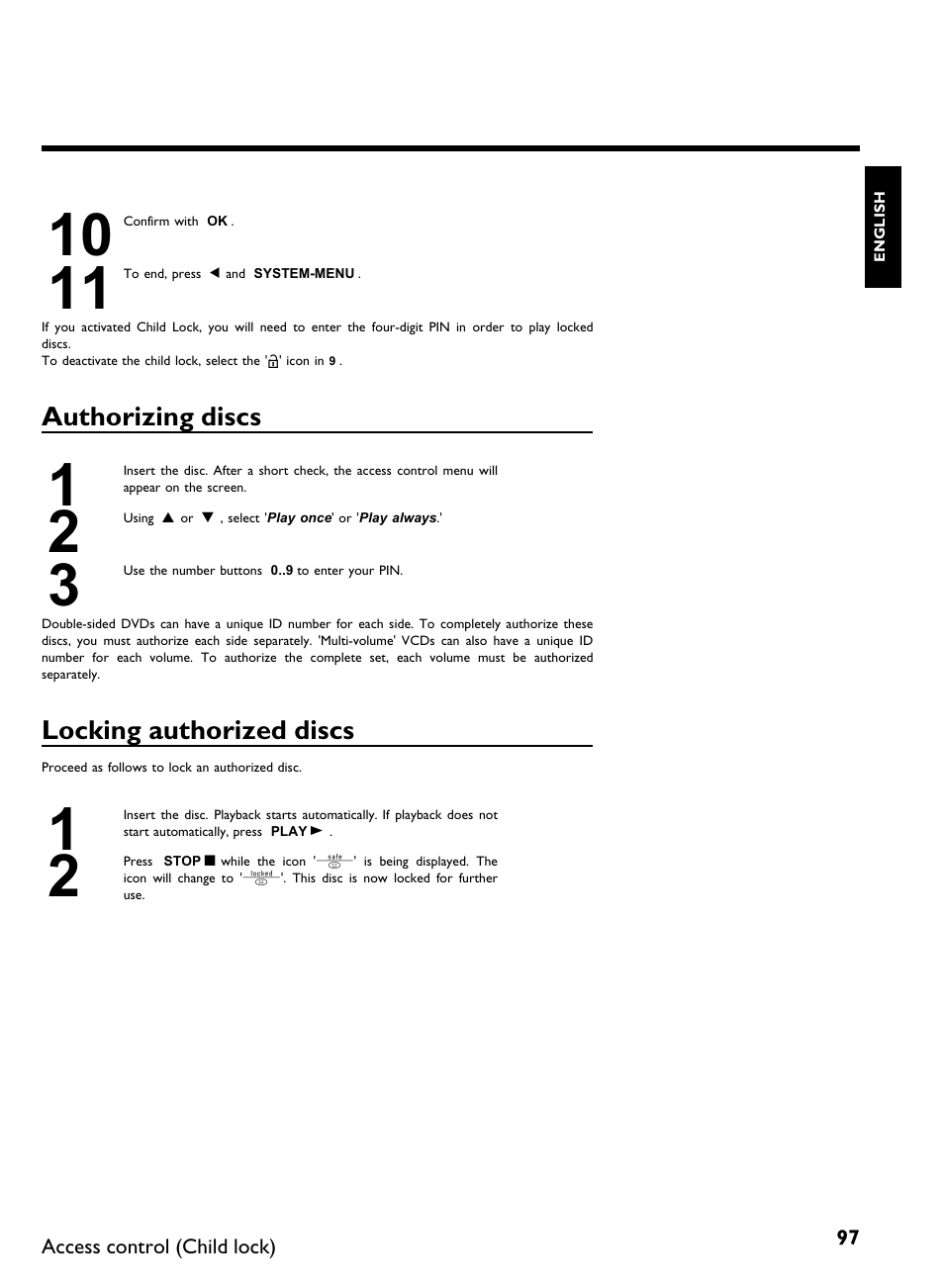 Philips DVDR3370H User Manual | Page 109 / 122 | Original mode