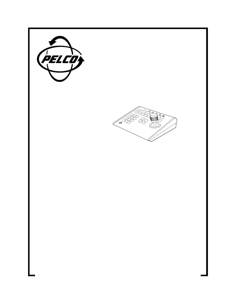 pelco kbd300 user manual 12 pages rh manualsdir com