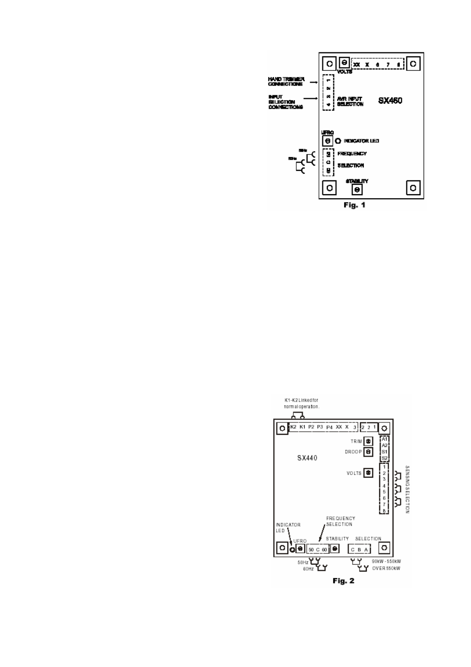 pi manufacturing ac generators page12 pi manufacturing ac generators user manual page 12 43 sx440 avr wiring diagram at crackthecode.co