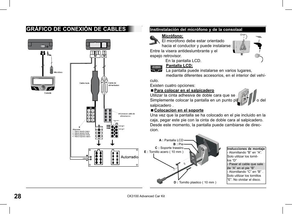 Parrot ck3100 lcd manuals.