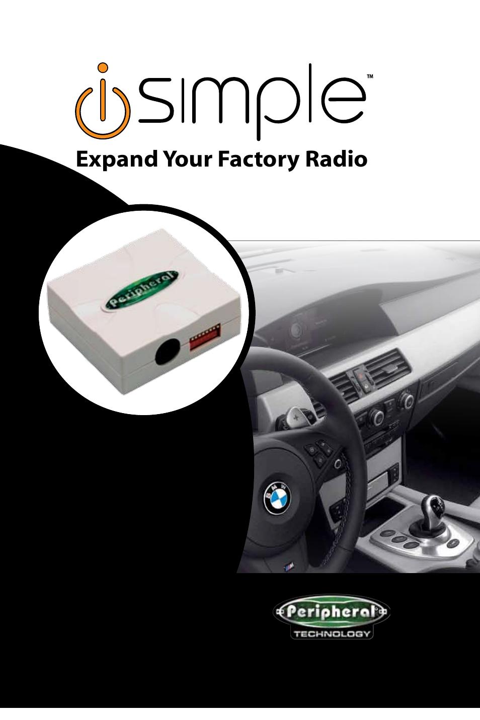 peripheral electronics isbm72 user manual 8 pages rh manualsdir com BMW Backup Camera BMW 3 Series