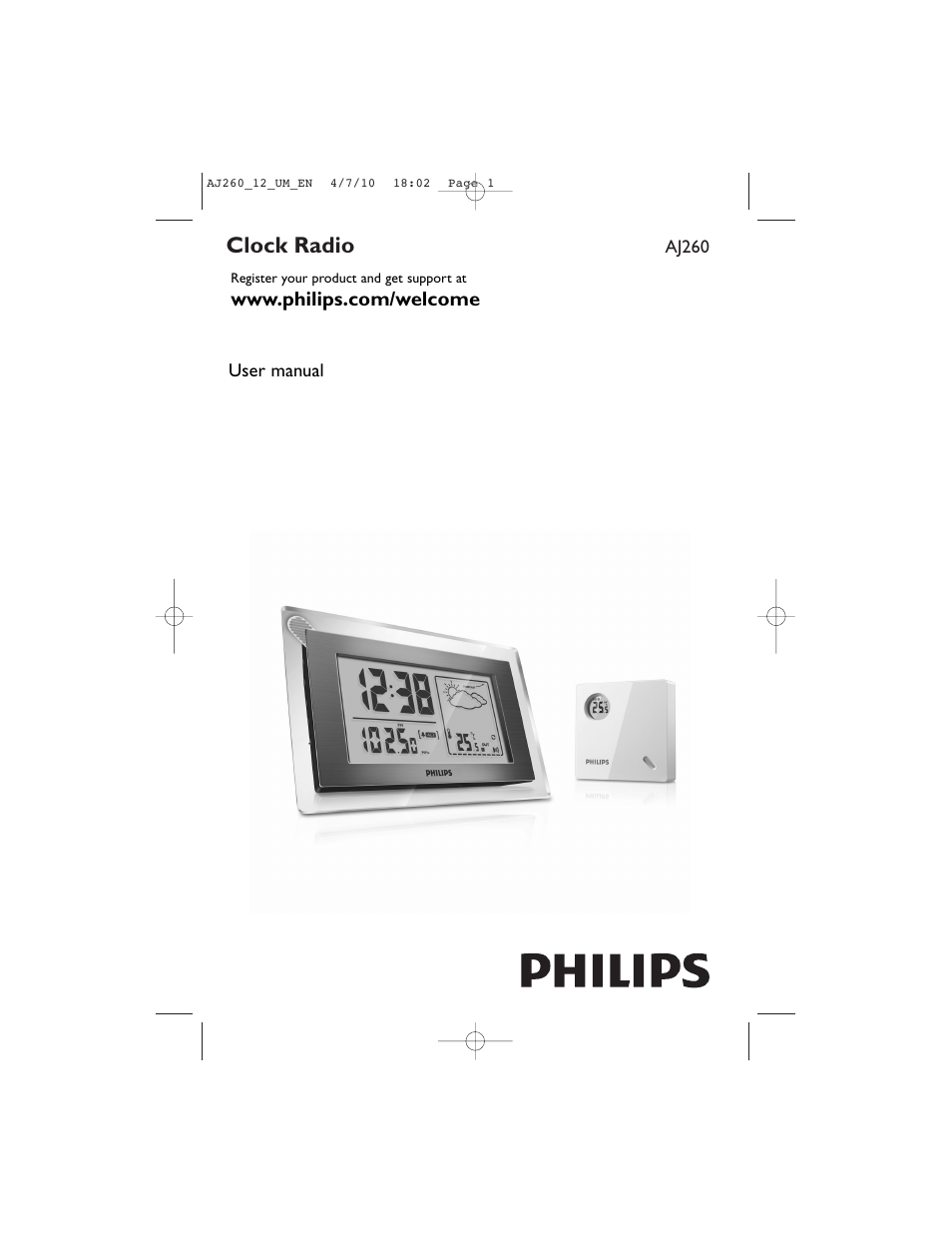 philips aj260 12 user manual 11 pages also for waj260 rh manualsdir com Philips Universal Remote User Manual Philips TV Manual