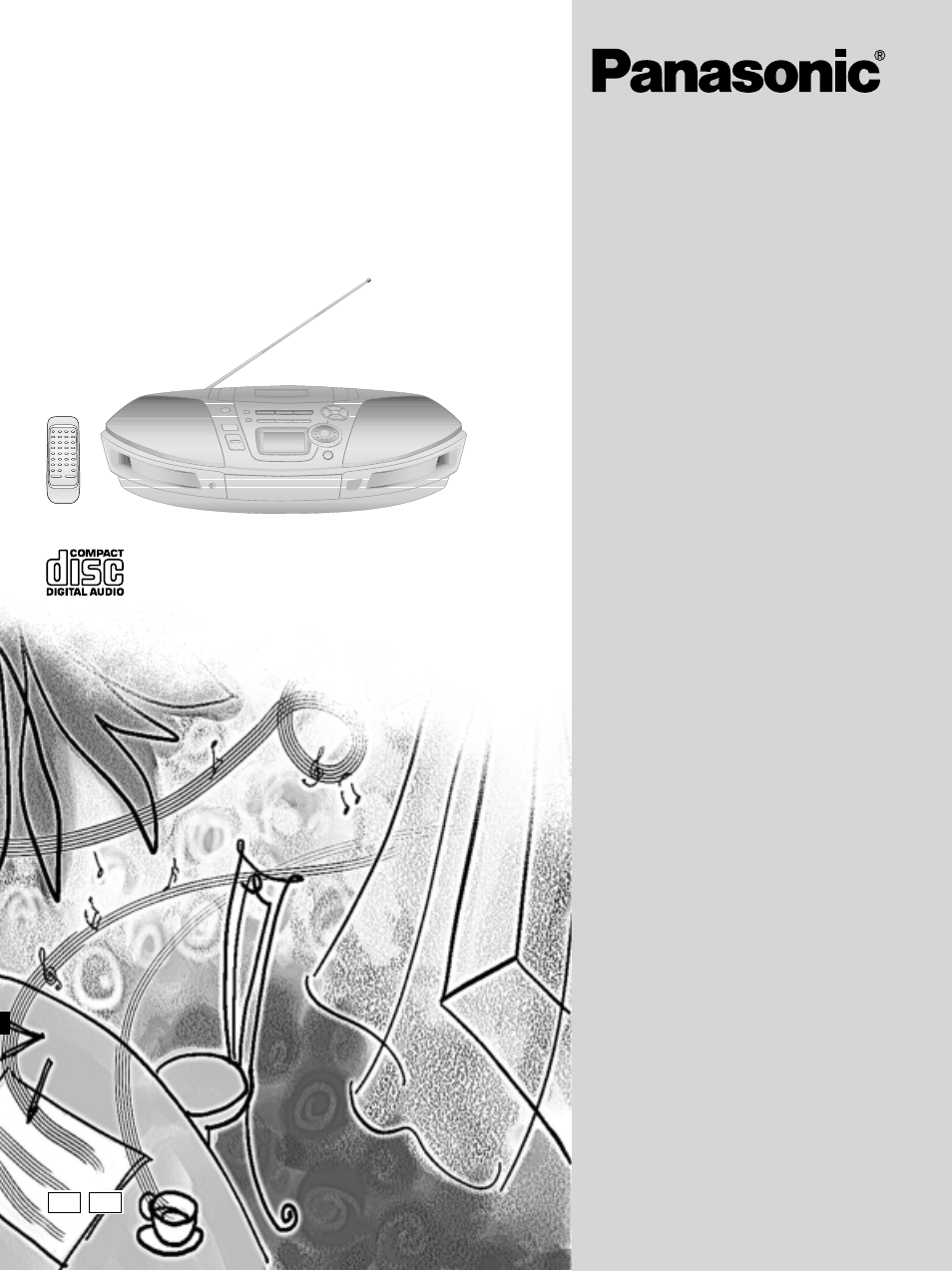 Panasonic RX-ES20 User Manual | 20 pages