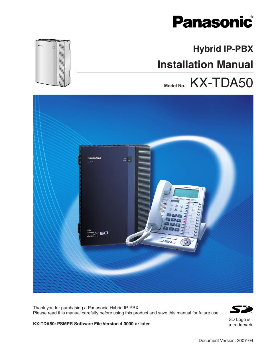 panasonic hybrid ip pbx kx tda50 user manual 158 pages rh manualsdir com panasonic kx-tda50 manual panasonic kx-tda50 programming manual