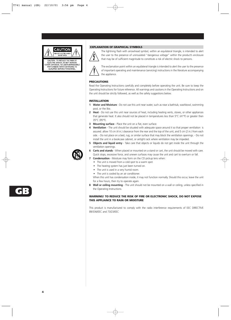 nad t741 user manual page 4 20 rh manualsdir com