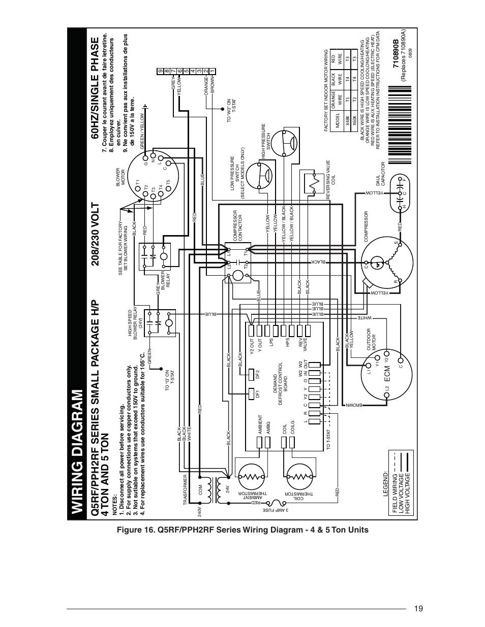 Nordyne Package Heat Pump Wiring Schematics Diagram Singer Heat