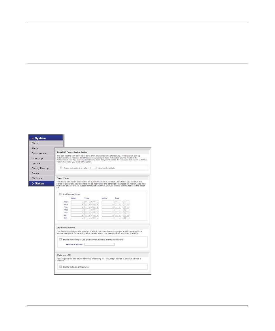 power management disk spin down option power management 3 rh manualsdir com