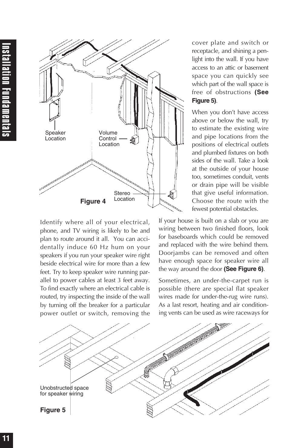 ins tall atio nf und am ent als | niles audio hd5 user manual | page 12 / 28