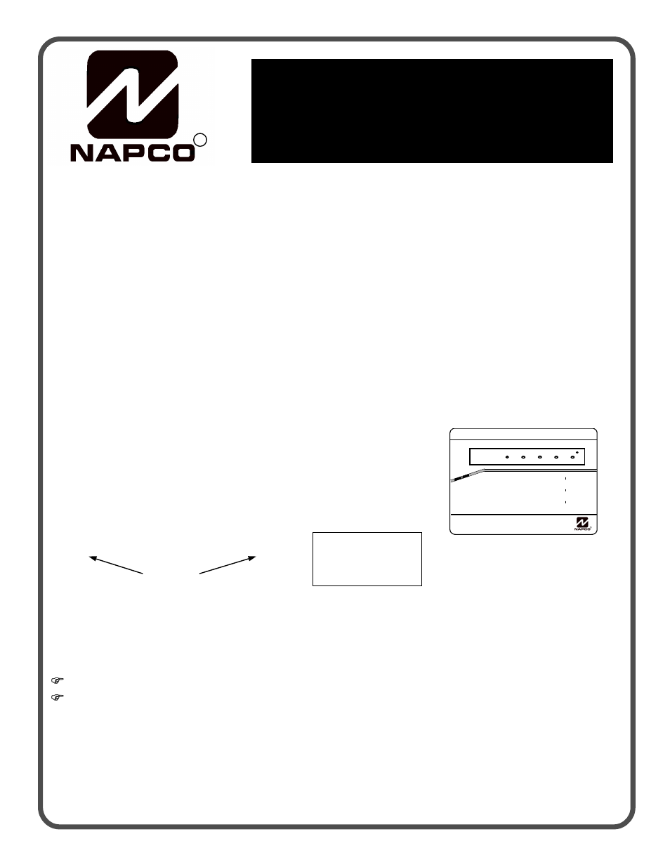 Napco Security Technologies GEM-P1632 User Manual | 16 pages | Also on