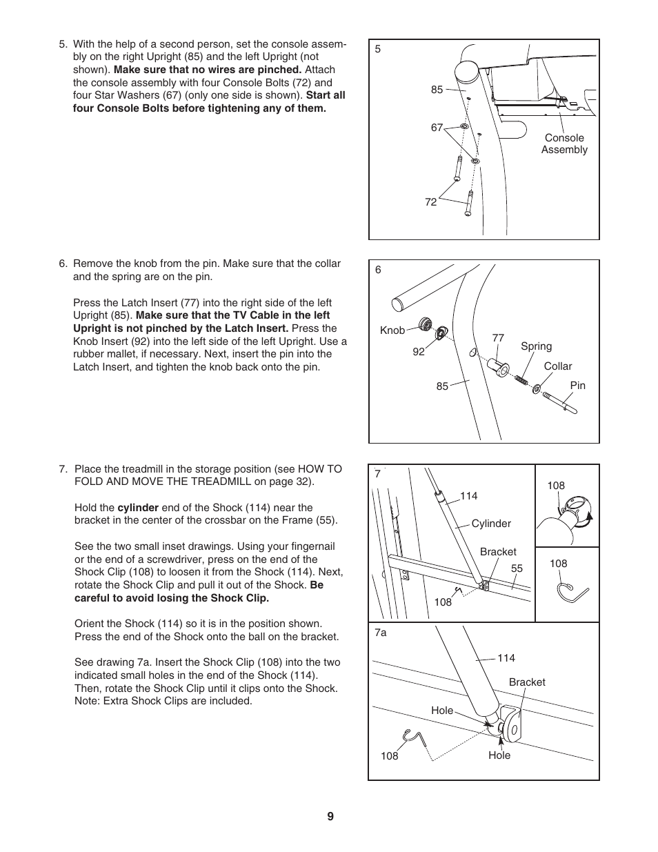 Nordictrack Viewpoint 2800 306020 User Manual Page 9 42 Wiring Diagram