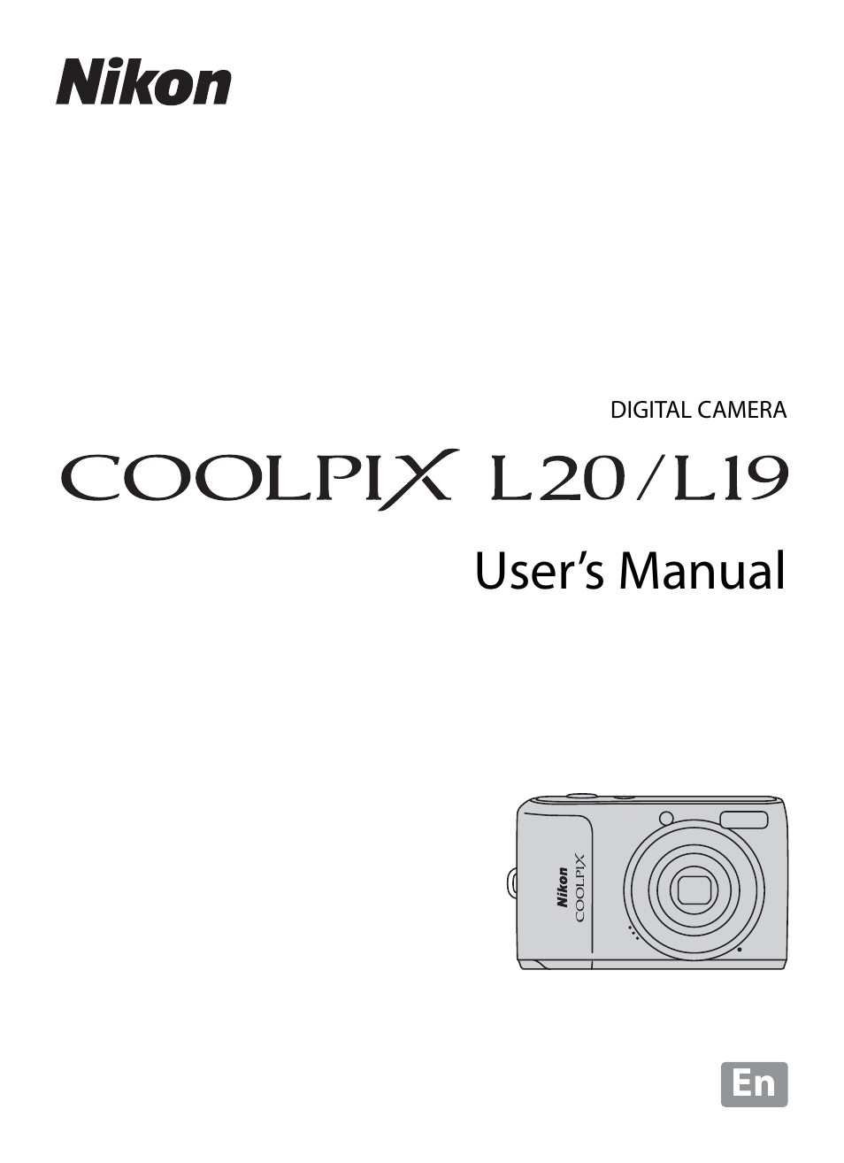 nikon coolpix l19 user manual 140 pages also for coolpix l20 nikon coolpix l20 manual download nikon coolpix l20 instruction manual