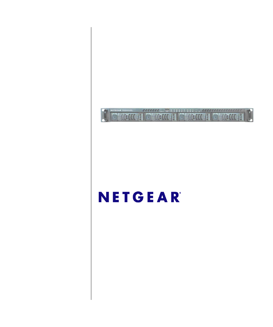 NETGEAR ReadyNAS 2100 User Manual | 126 pages