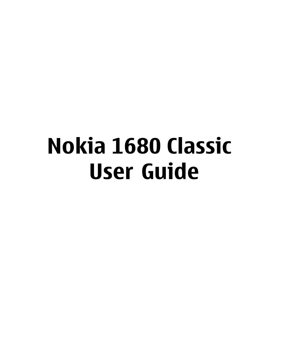 nokia 1680 user manual 62 pages rh manualsdir com Safaricom Nokia Phones Nokia 1660