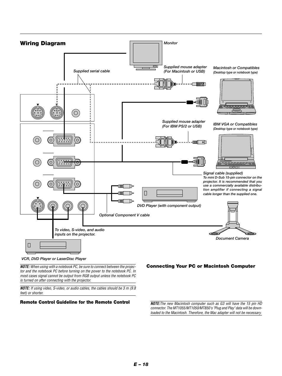 nec mt850 manual