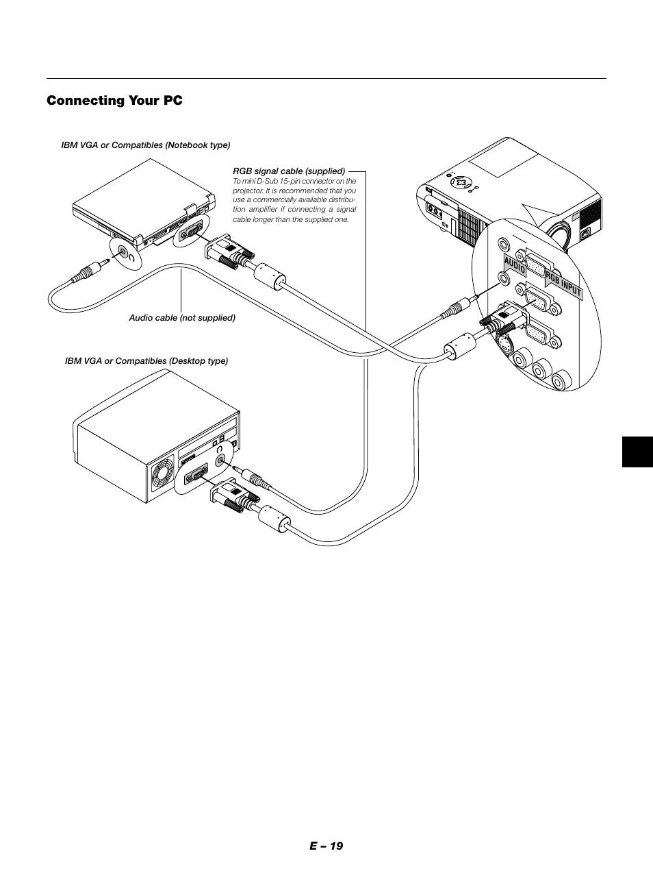 nec mt1050 manual