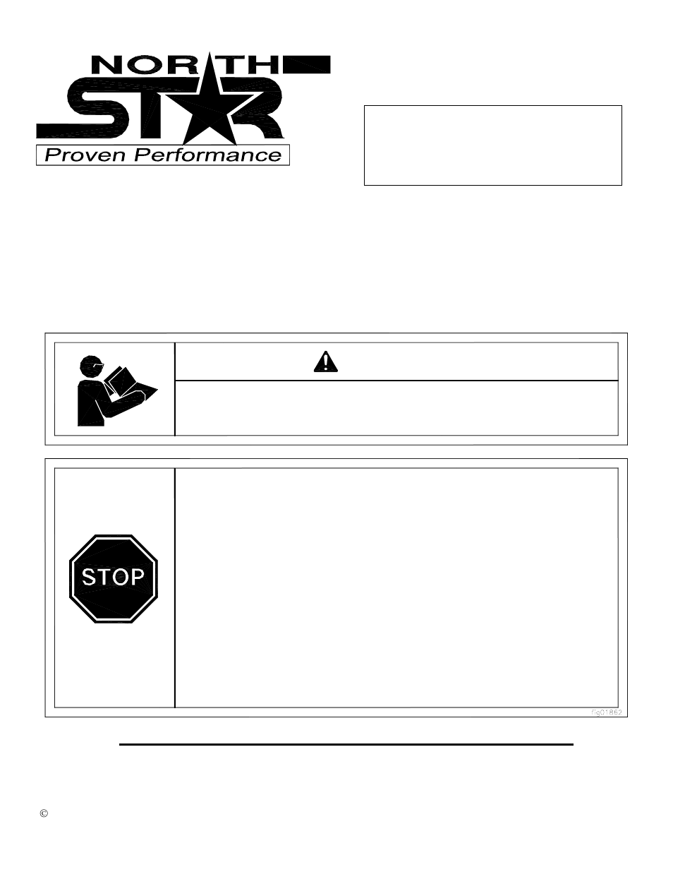 North Star Proven Performance M1578112g User Manual