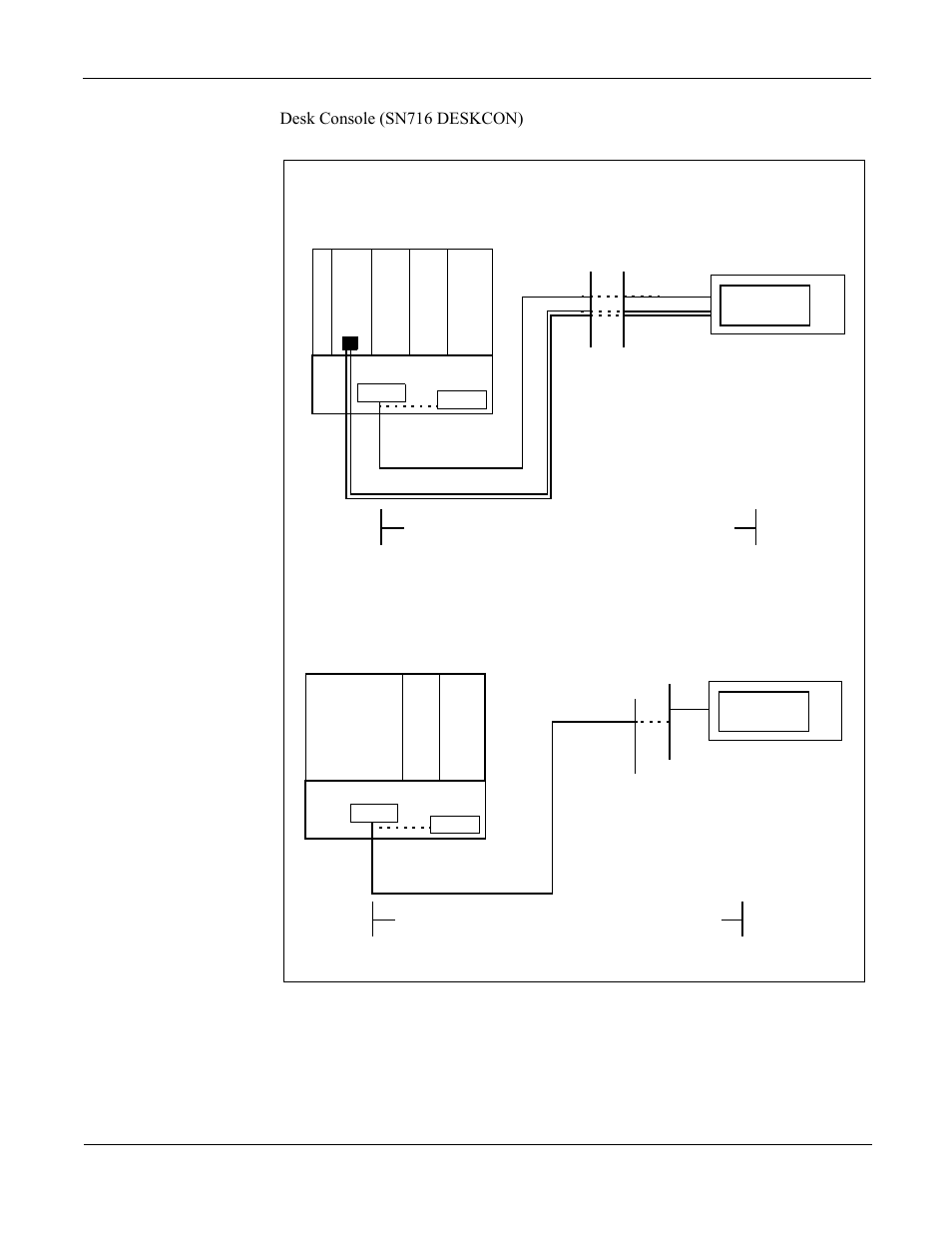 Attendant Console Figure 6 7 Cable Connection Rollover Diagram Nec Neax 2000 Ips User Manual Page 72 96