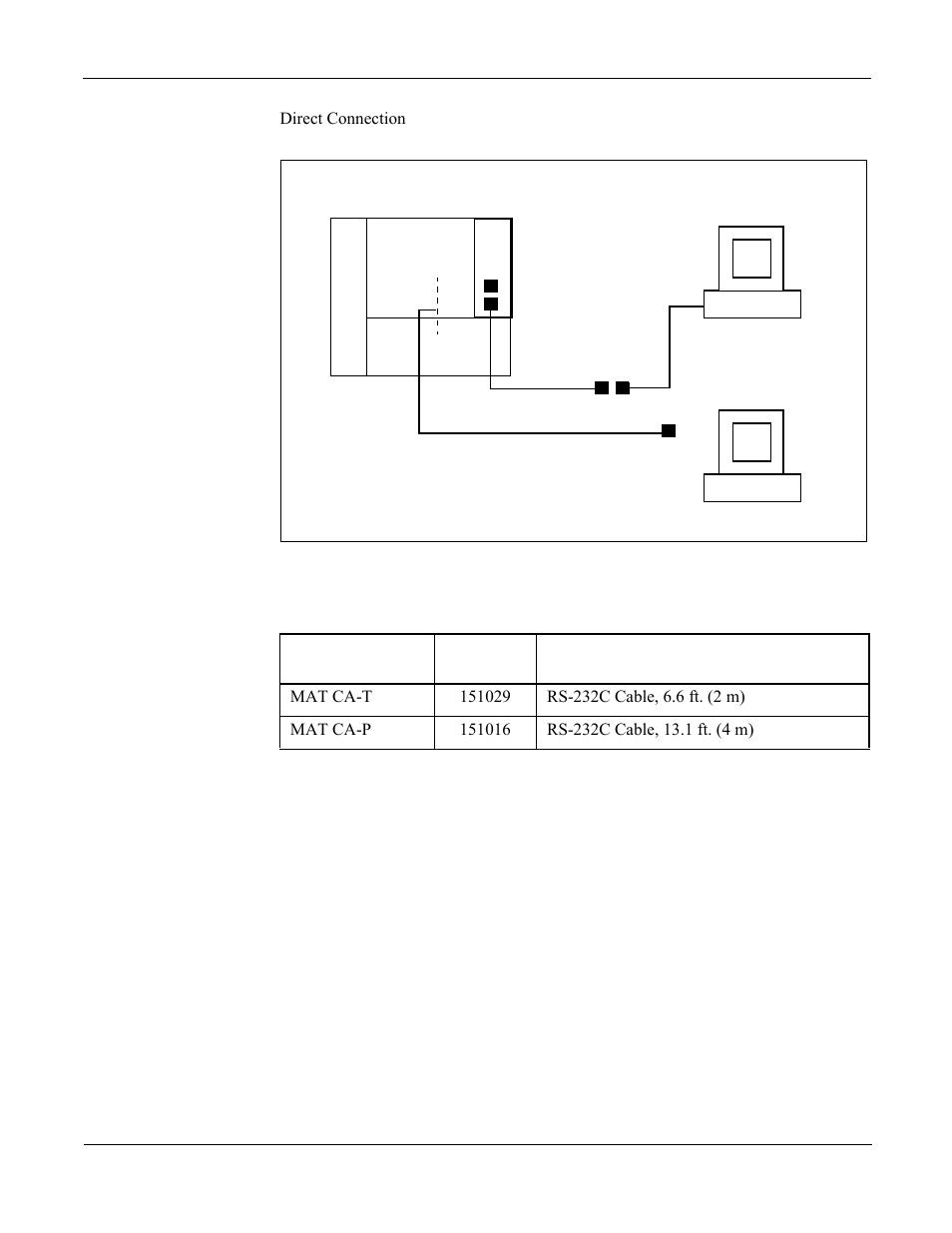 figure 6 8 mat cable connection direct table 6 8 nec neax 2000 rh manualsdir com NEAX 2400 NEC 2014
