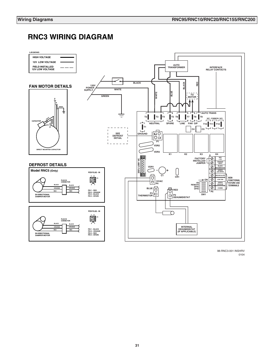 Wiring Diagram Of Manual Defrost Wiring Diagram And