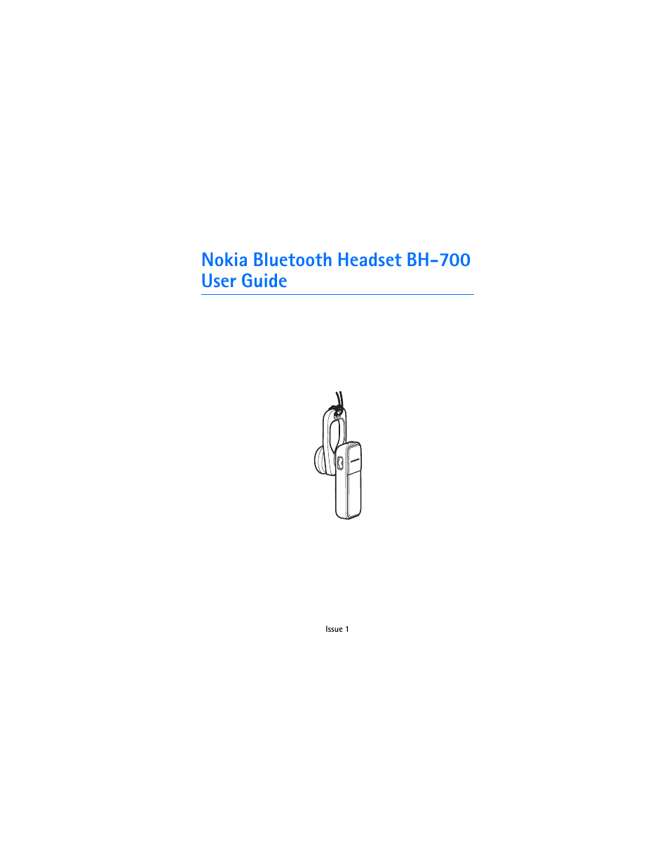 nokia bluetooth headset bh 700 user manual 13 pages rh manualsdir com Nokia NFC Accessories Nokia Stereo
