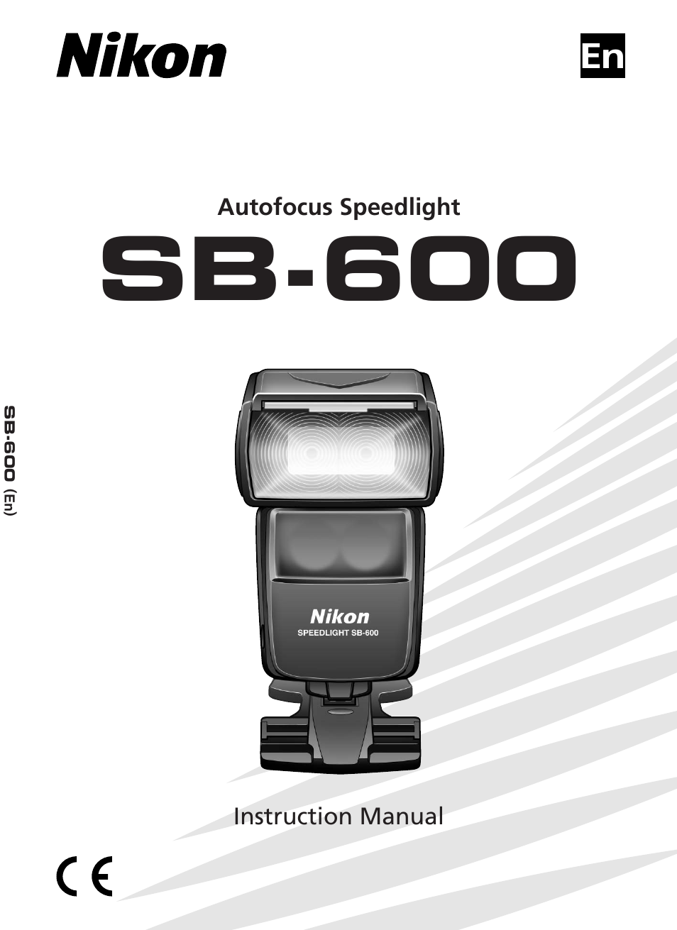 nikon speedlight sb 600 user manual 92 pages rh manualsdir com sb600 nikon flash user manual EAW SB -600