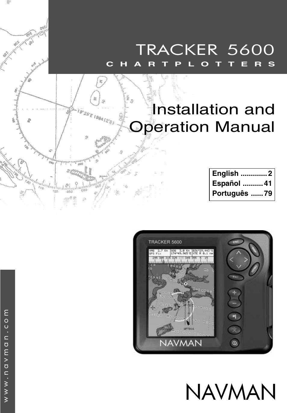 navman tracker plotter tracker 5600 user manual 42 pages rh manualsdir com Honeywell Thermostat Installation Manual Vinyl Graphics Installation Guide