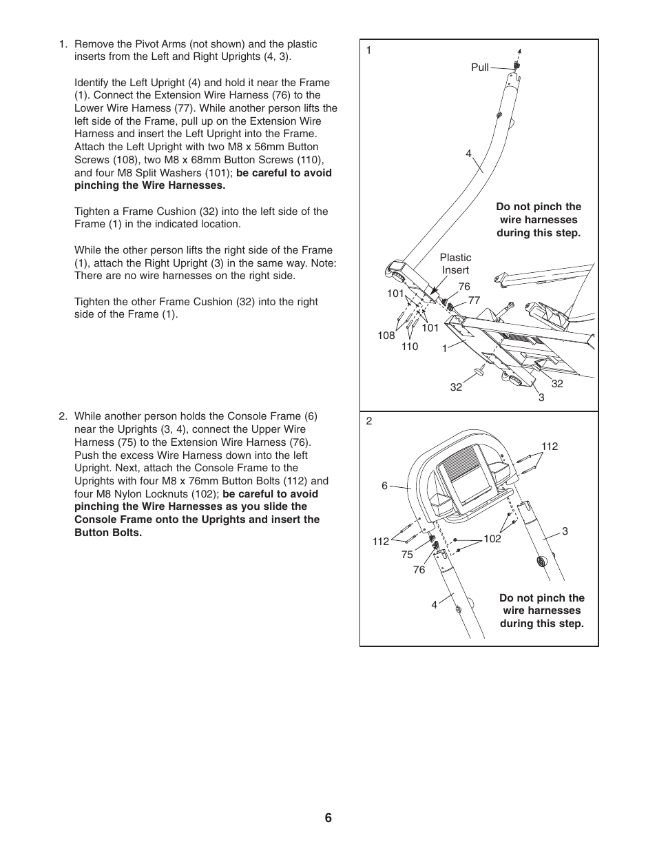 nordictrack cx 1055 elliptical exerciser 30508 0 user manual page rh manualsdir com nordictrack cx 1055 owners manual nordictrack cx 1055 assembly instructions