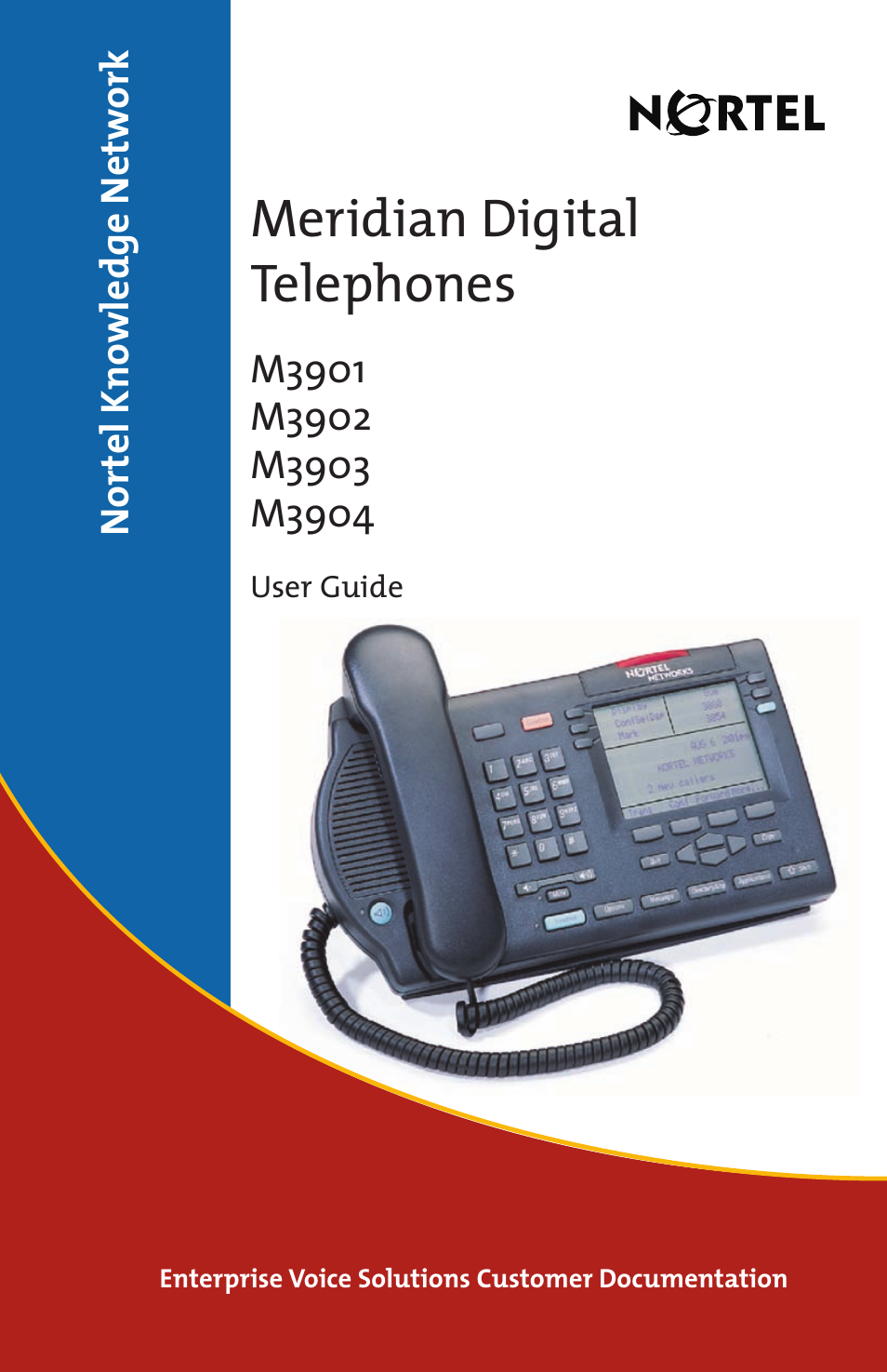 Nortel Networks Meridian M3902 User Manual | 146 pages