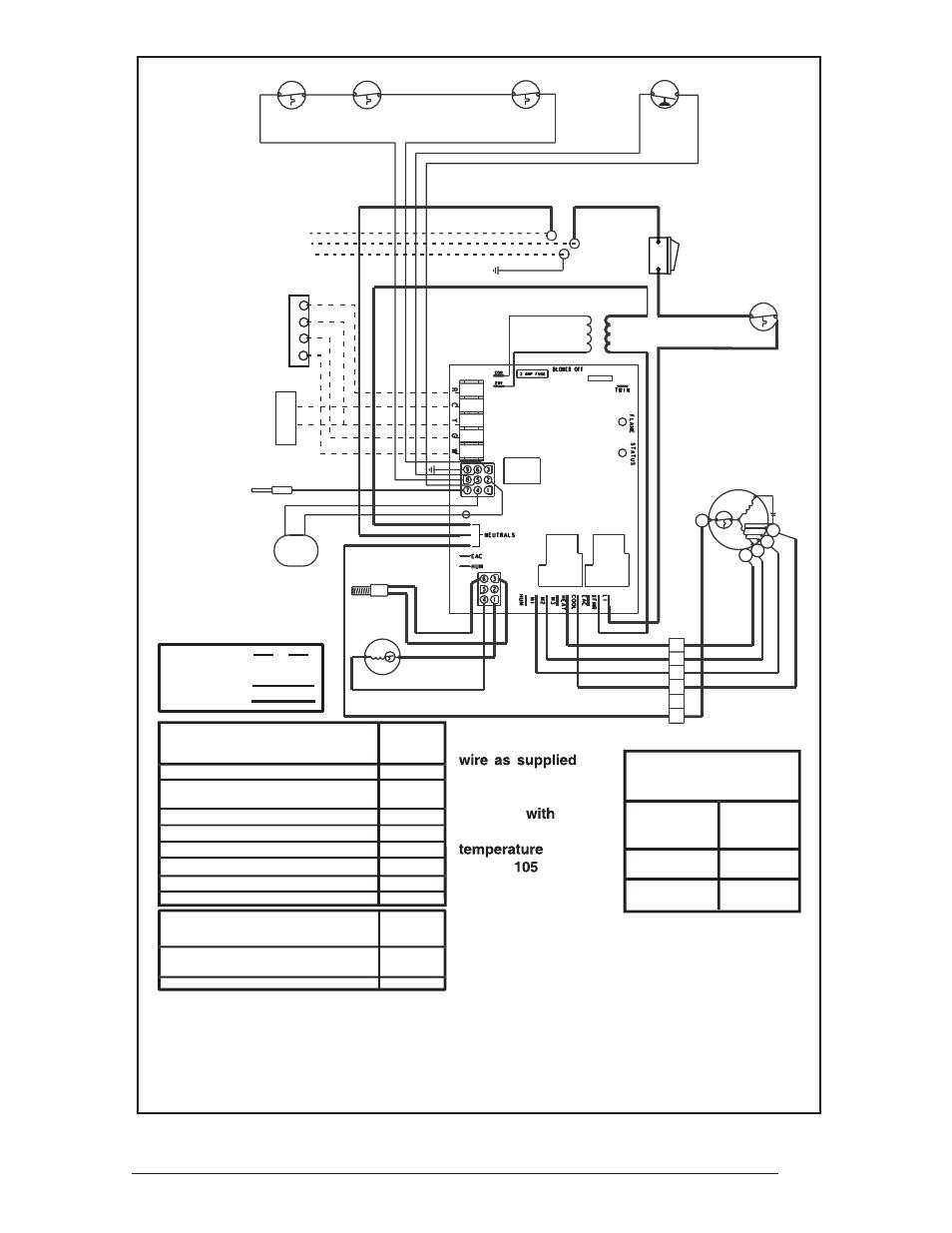 33 Figure 30  Downflow Furnace Wiring Diagram  Legend