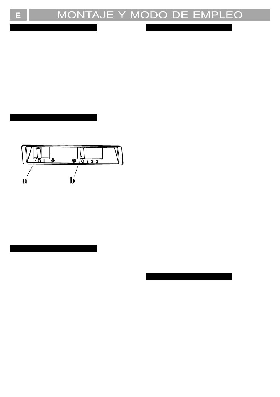 Montaje y modo de empleo | Fagor 4 CC 130 E N User Manual | Page ...