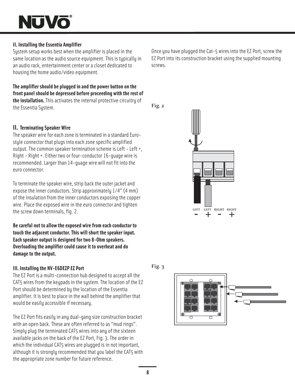 Nuvo NV-E6DMS-DC User Manual   Page 9 / 29   Also for: NV-E6DXS-DC