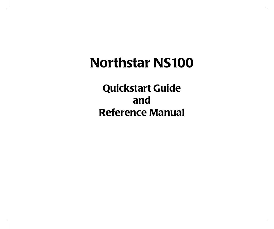 northstar navigation northstar ns100 user manual 74 pages rh manualsdir com North Star 8000I Parts North Star NS 100 Marine Radio