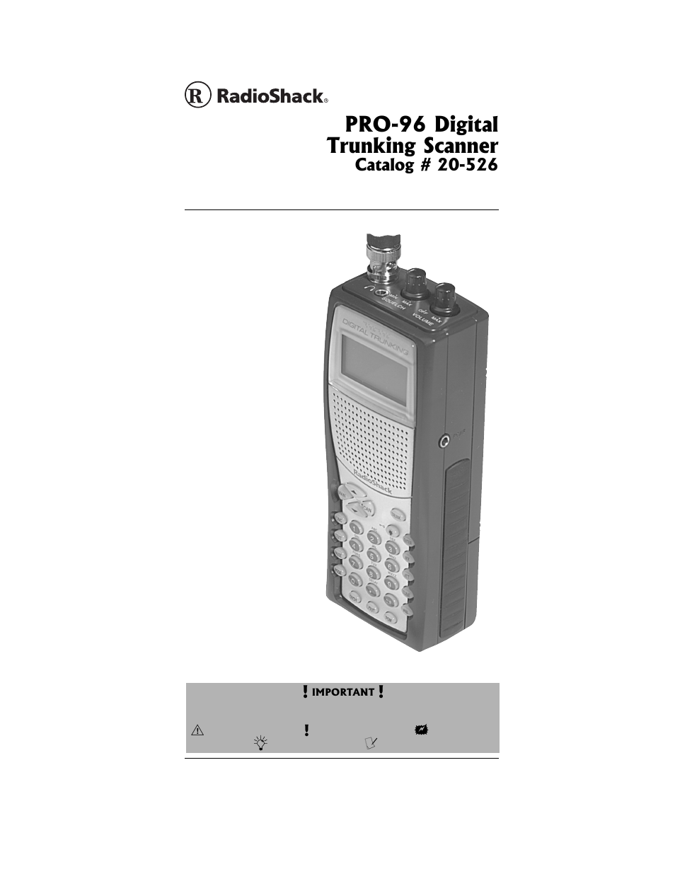 radio shack pro 96 user manual 124 pages rh manualsdir com Radio Shack Pro 2.0 Radio Shack Pro 205