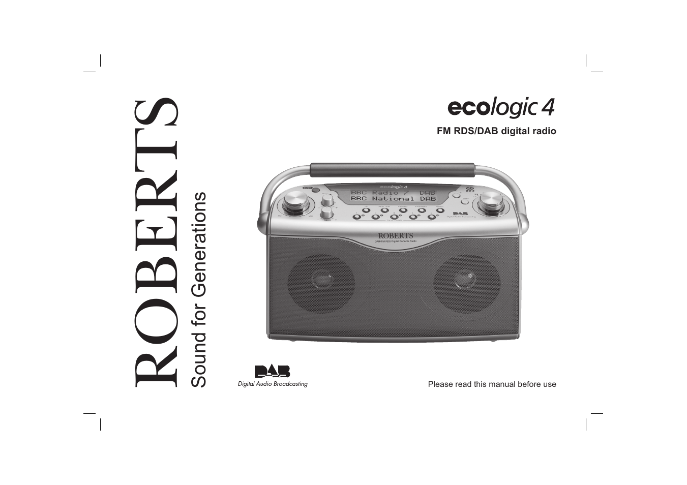 roberts radio ecologic 4 user manual 28 pages rh manualsdir com Ecologic Furniture Ecologic Fashion