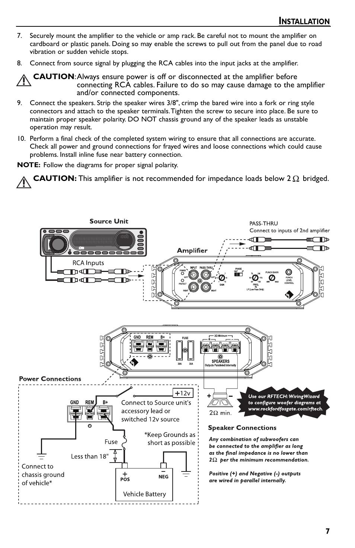 rockford fosgate wiring diagrams wiring diagram bose subwoofer wiring diagram fosgate amp wiring diagram #7