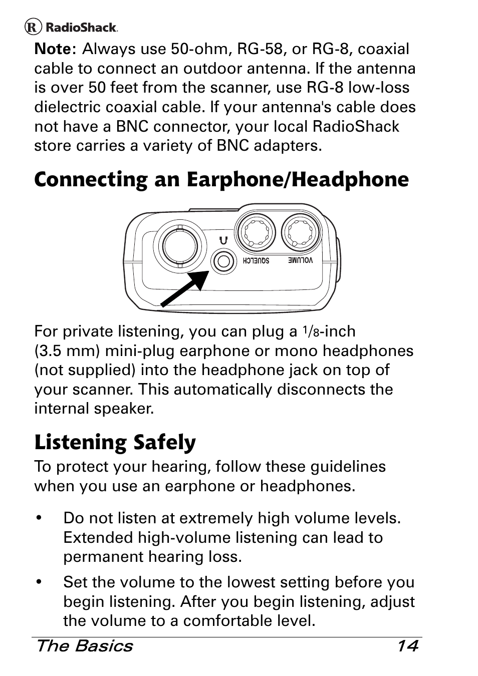 Radio Shack Scanners Manuals
