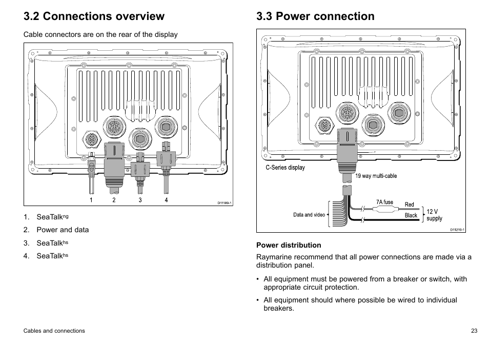 2 Connections Overview  3 Power Connection