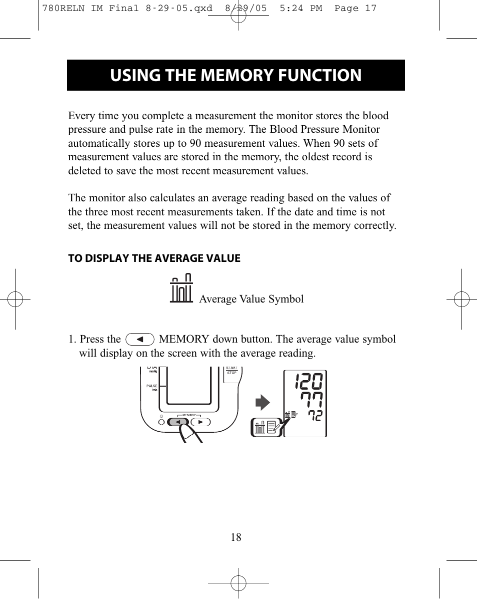 Relion Hem 780rel User Manual Page 18 56