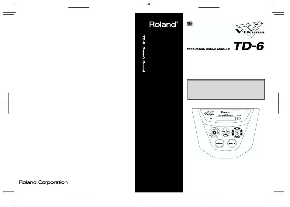roland td 6 manual various owner manual guide u2022 rh justk co