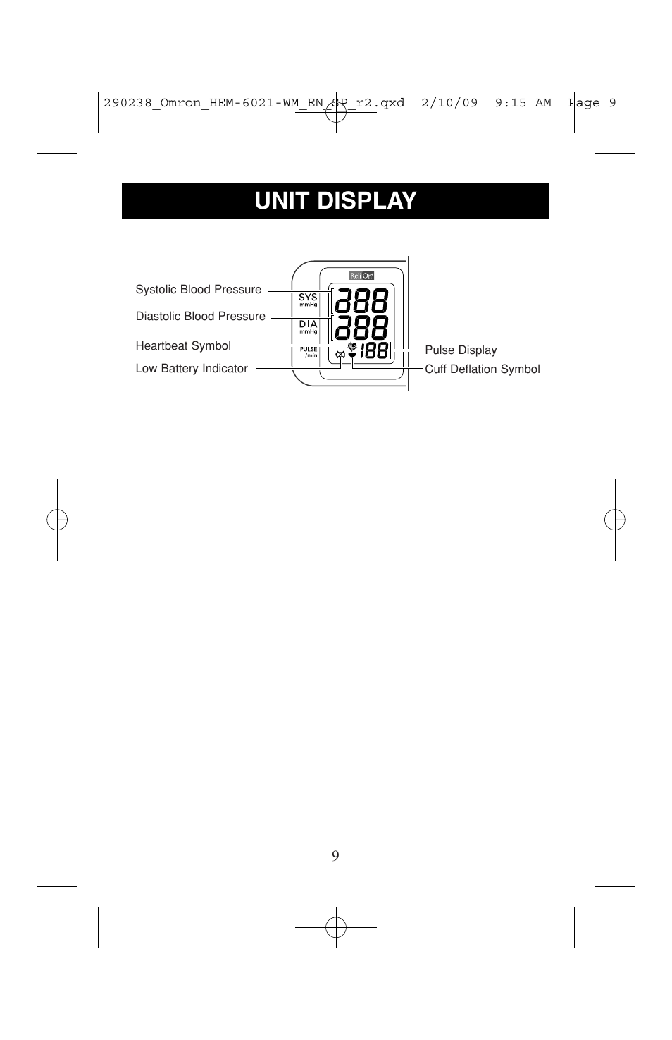 Unit Display Relion 6021rel User Manual Page 9 44