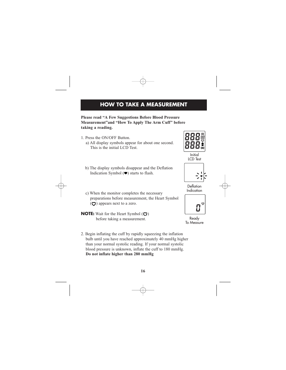How To Take A Measurement Relion Hem 412crel User Manual Page 16