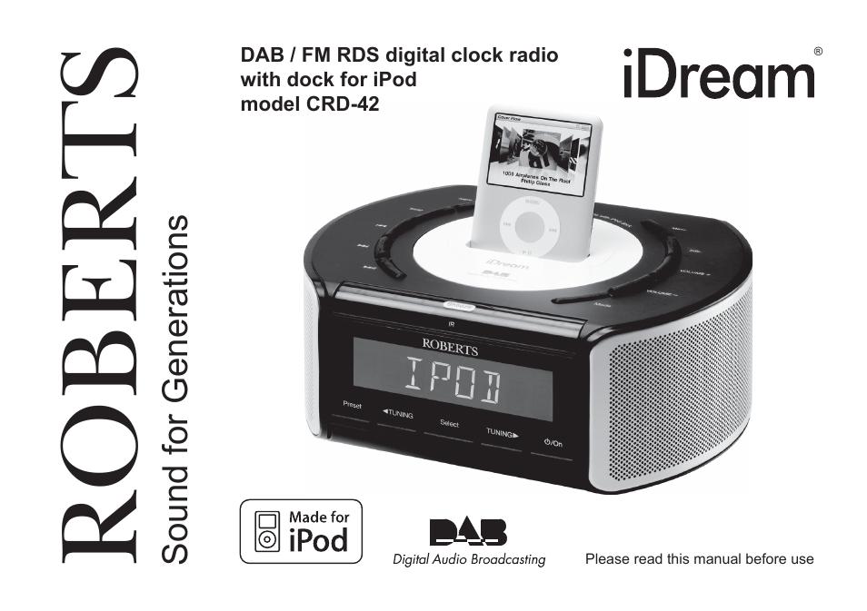 roberts radio crd 42 user manual 40 pages rh manualsdir com